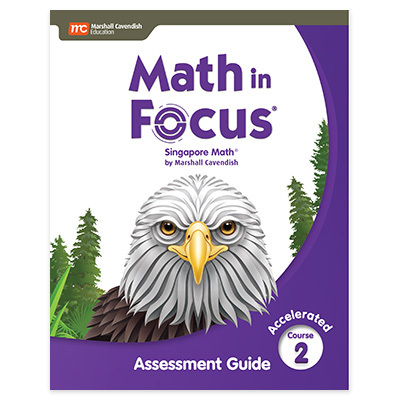 Math in Focus  Assessment Guide Accelerated-9780358104216