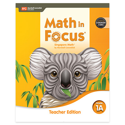 Math in Focus  CCSS Teacher Edition Volume A Grade 1-9780358104247