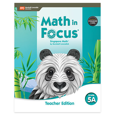 Math in Focus CCSS  Teacher Edition Volume A Grade 5-9780358104322