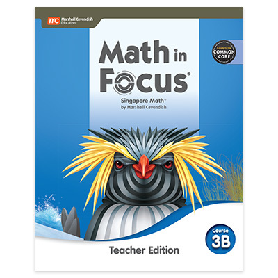 Math in Focus  CCSS Teacher Edition Volume B-9780358104391