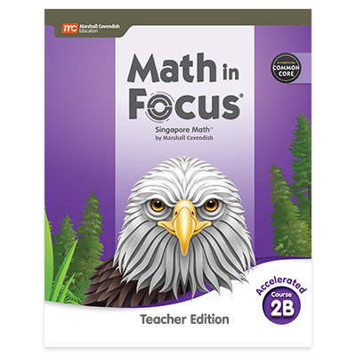 Math In Focus CCSS  Teacher Edition Volume B Accelerated-9780358104414