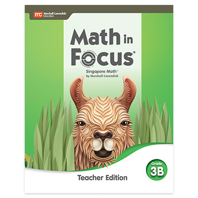 Math in Focus  Teacher Edition Volume B Grade 3-9780358104797