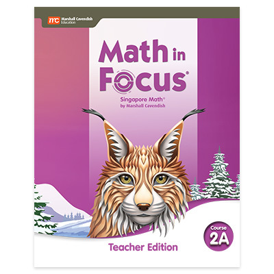 Math in Focus  Teacher Edition Volume A Course 2-9780358104865