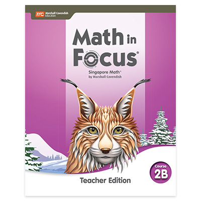 Math in Focus  Teacher Edition Volume B Course 2-9780358104872
