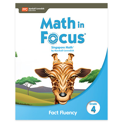 Singapore Math Fact Fluency Grade 4-9780358105176