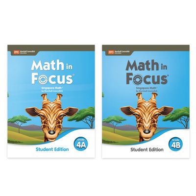 Math in Focus  Student Edition Set-9780358116806