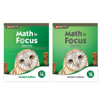 Math in Focus  Student Edition Set-9780358116820