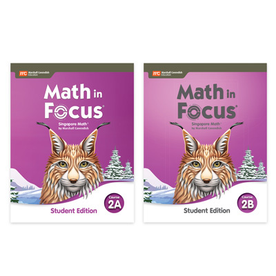 Math in Focus  Student Edition Set-9780358116837