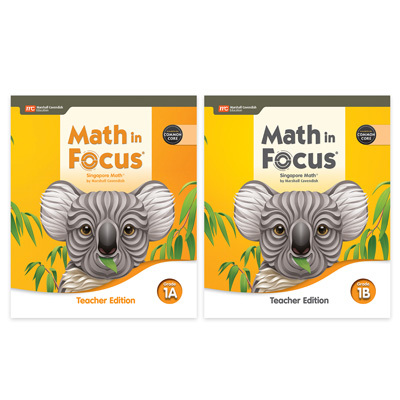 Math in Focus CCSS  Teacher Edition Set Grade 1-9780358116974