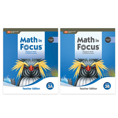 Math In Focus CCSS  Teacher Edition Set Course 3-9780358117049