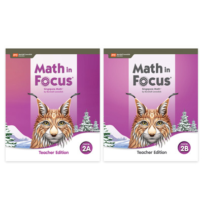Math in Focus  Teacher Edition Set Course 2-9780358117131