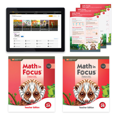 Math in Focus CCSS with 1 Year Digital Essential Teacher Resource Package Grade 2-9780358229452