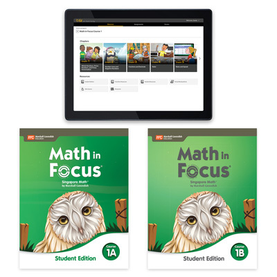 Math in Focus with 1 Year Digital Essential Student Resource Package Grade 6-9780358232124