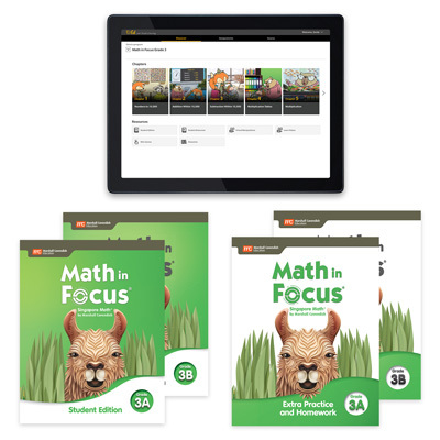 1 Year Digital Premium Student Resource Package with Extra Practice and Homework Grade 3