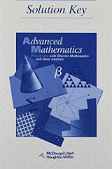 McDougal Littell Advanced Math  Solution Key-9780395649541