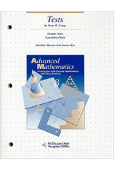 McDougal Littell Advanced Math  Tests, Blackline Masters-9780395666241