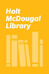 Holt McDougal Library, High School with Connections  Student Text . . . And the Earth Did Not Devour Him-9780395771396