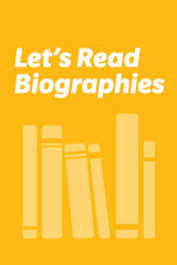 Let's Read Biographies  Leveled Reader Grade 1 Christa Mcauliffe-9780395813355