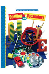 Houghton Mifflin Spelling and Vocabulary  Student Edition (Softcover) Level 4-9780395855317