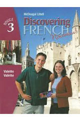 Discovering French, Nouveau!  Student Edition Level 3-9780395874868