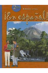 ¡En español!  Student Edition (hardcover) Level 2-9780395910832