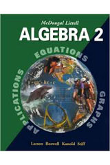 McDougal Littell Algebra 2  Student Edition-9780395937785