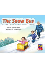 Rigby PM Stars  Leveled Reader 6pk Blue (Levels 9-11) The Snow Bus-9780544004108