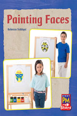 Rigby PM Stars  Leveled Reader 6pk Blue (Levels 9-11) Painting Faces-9780544004153