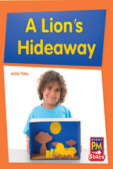 Rigby PM Stars  Leveled Reader 6pk Blue (Levels 9-11) A Lion's Hide-Away-9780544004269