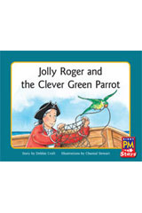 Rigby PM Stars  Leveled Reader 6pk Green (Levels 12-14) Jolly Roger and the Clever Green Parrot-9780544004399