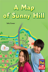 Rigby PM Stars  Leveled Reader 6pk Green (Levels 12-14) A Map of Sunny Hill-9780544004443