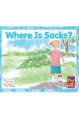 Rigby PM Stars  Leveled Reader 6pk Red (Levels 3-5) Where Is Socks?-9780544004481