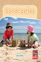 Rigby PM Stars  Leveled Reader 6pk Red (Levels 3-5) Sandcastles-9780544004528