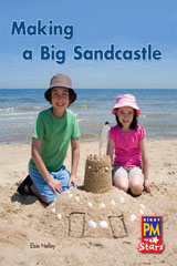 Rigby PM Stars  Leveled Reader 6pk Red (Levels 3-5) Making a Big Sandcastle-9780544004573