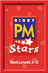Rigby PM Stars  Single Copy Collection Red (Levels 3-5)-9780544025110