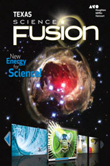 Science Fusion Texas Student Edition Grade 8-9780544025547