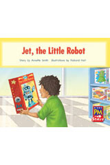 Rigby PM Stars  Leveled Reader Bookroom Package Red (Levels 3-5) The Jet Little Robot-9780544026230