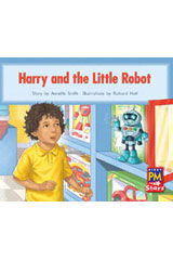 Rigby PM Stars  Leveled Reader Bookroom Package Red (Levels 3-5) Harry and the Little Robot-9780544026247