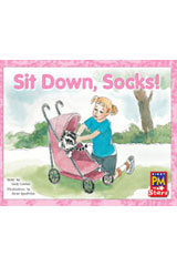 Rigby PM Stars  Leveled Reader Bookroom Package Yellow (Levels 6-8) Sit Down, Socks!-9780544026339