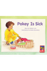 Rigby PM Stars  Leveled Reader Bookroom Package Yellow (Levels 6-8) Pokey Is Sick-9780544026346
