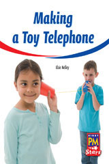Rigby PM Stars  Leveled Reader Bookroom Package Yellow (Levels 6-8) Making a Toy Telephone-9780544026407