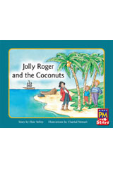 Rigby PM Stars  Leveled Reader Bookroom Package Yellow (Levels 6-8) Jolly Roger and the Coconuts-9780544026469