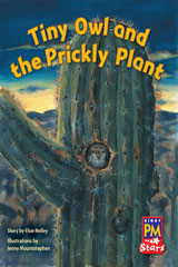 Rigby PM Stars  Leveled Reader Bookroom Package Blue (Levels 9-11) Tiny Owl and the Prickly Plant-9780544026513