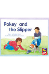 Rigby PM Stars  Leveled Reader Bookroom Package Blue (Levels 9-11) Pokey and the Slipper-9780544026551