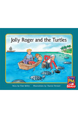 Rigby PM Stars  Leveled Reader Bookroom Package Blue (Levels 9-11) Jolly Roger and the Turtles-9780544026582