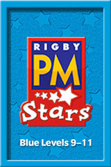 Rigby PM Stars  Leveled Reader Bookroom Package Blue (Levels 9-11) Athletics-9780544026674