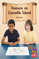 Rigby PM Stars  Leveled Reader Bookroom Package Green (Levels 12-14) Treasure on Crocodile Island-9780544026711