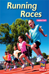 Rigby PM Stars  Leveled Reader Bookroom Package Green (Levels 12-14) Running Races-9780544026759