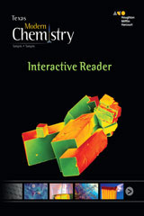 Holt McDougal Modern Chemistry Texas Interactive Reader-9780544034013