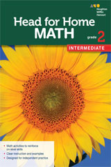 Head for Home Math  Intermediate Workbook Grade 2-9780544038332